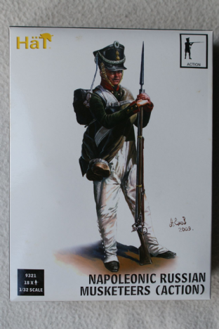 Hat 1/32 HAT9321 Russian Musketeers Action Poses (Napoleonic)